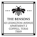 Custom Address Stamp CS3255 by Three Designing Women