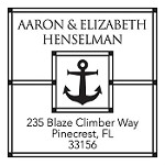 Custom Address Stamp CS3262 by Three Designing Women