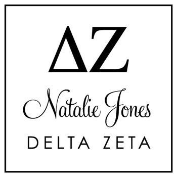 Custom Greek Stamp CS8003 Delta Zeta by Three Designing Women