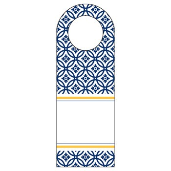 Kate Navy Bottle Tags by Three Designing Women