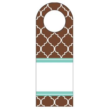Madison Chocolate Bottle Tags by Three Designing Women