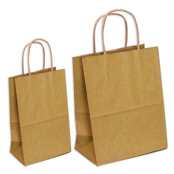 Large and Small Kraft Gift Bags by Three Designing Women