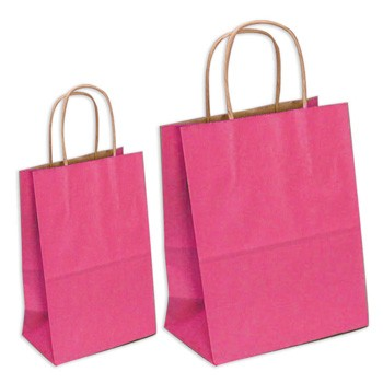 Large and Small Pink Gift Bags by Three Designing Women