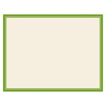 Cream Grass Panel Cards by Three Designing Women