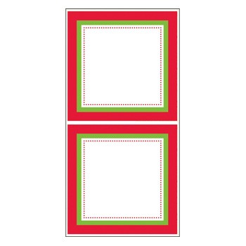 Candy Cane Stickers by Three Designing Women