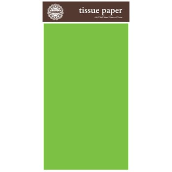 Green Tissue Paper by Three Designing Women