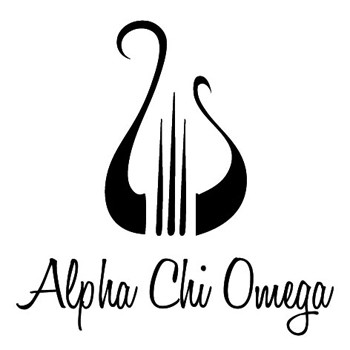 Alpha Chi Omega Symbol Mix and Match Stamp Design by Three Designing Women