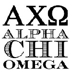 Alpha Chi Omega Greek Mix and Match Stamp Design by Three Designing Women