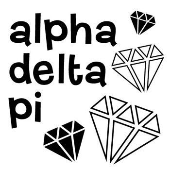 Self Inking Mix And Match Sorority Rubber Stamp Design Alpha Delta
