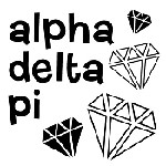 Alpha Delta Pi Symbol Mix and Match Stamp Design by Three Designing Women