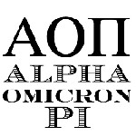 Alpha Omicron Pi Greek Mix and Match Stamp Design by Three Designing Women