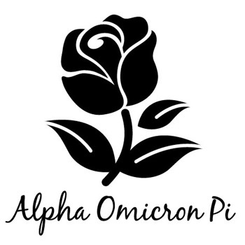 Alpha Omicron Pi Symbol Mix and Match Stamp Design by Three Designing Women
