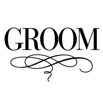 Luxe Groom Mix and Match Stamp Design by Three Designing Women