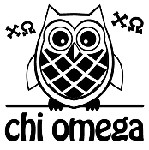 Chi Omega Symbol Mix and Match Stamp Design by Three Designing Women