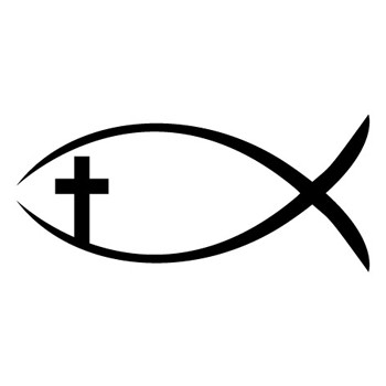 Self inking mix and match christian rubber stamp design for Fish symboled stamp