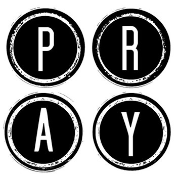 Pray Mix and Match Stamp Design by Three Designing Women