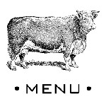 Cow Menu Mix and Match Stamp Design by Three Designing Women