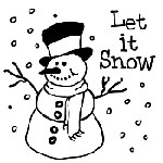 Snow Mix and Match Stamp Design by Three Designing Women