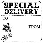Special Delivery Mix and Match Stamp Design by Three Designing Women