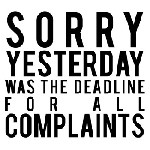 Complaints Mix and Match Stamp Design by Three Designing Women