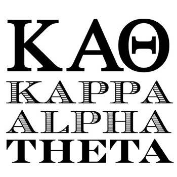 Kappa Alpha Theta Greek Mix and Match Stamp Design by Three Designing Women