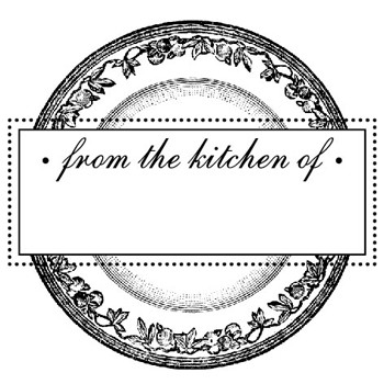 Plate From Mix and Match Stamp Design by Three Designing Women