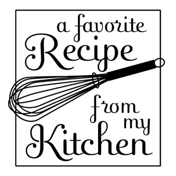 Recipe Mix and Match Stamp Design by Three Designing Women