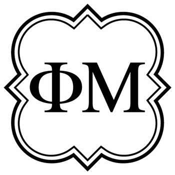 Self Inking Mix and Match Sorority Rubber Stamp Design