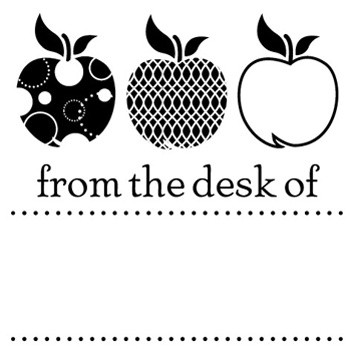 Desk Mix and Match Stamp Design by Three Designing Women